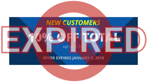 Excel Current Promo Ends January 3, 2018