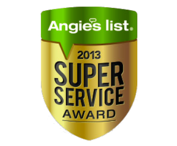 Angies List Award 2013